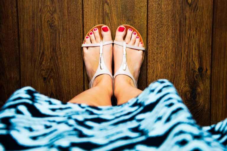 feet summer dress sandals